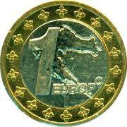 1 Europ (Croatia Euro Fantasy Token) – reverse
