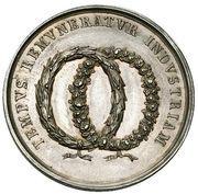 School Medal (INDVSTRIA TEMPORE VTITVR / TEMPVS REMVNERATVR INDVSTRIAM) – reverse
