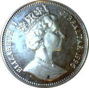 14 ECUS - Elizabeth II (Napoleon) – obverse