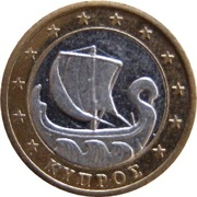 1 (Cyprus Euro Fantasy Token) – obverse