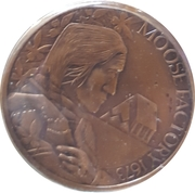 Medal - Moose Factory (300th Anniversary) – obverse