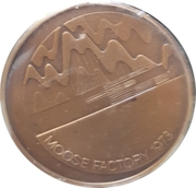 Medal - Moose Factory (300th Anniversary) – reverse