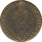 Medal - Pribram Scientiae Rerum Montanarum – obverse