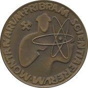 Medal - Pribram Scientiae Rerum Montanarum – reverse