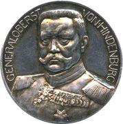 Medal - Paul von Hindenburg – obverse