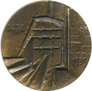 Medal - Thomas More – reverse