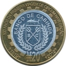 20 Macutas (500th Anniversary of Fernand Magellan's First World Travel) – obverse