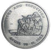 Medal - Fort Pulaski, Georgia – reverse