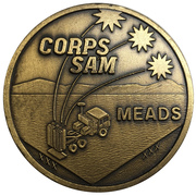 Medal - H&R Company, Corps SAM Meads – obverse