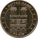 Monnaie de Paris Tourist Token - Paris (Notre Dame) – obverse