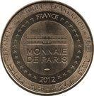 Monnaie de Paris Tourist Token - Paris (Notre Dame) – reverse