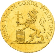 1 ¼ Ducat - Leopold II (Homage of Lower Austria estates) – reverse