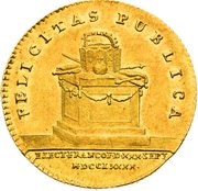 1 Ducat - Leopold II (Election of Holy Roman Emperor) – reverse