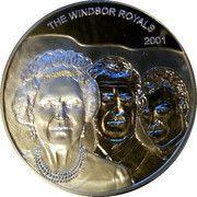 500 Sika - Elizabeth II (The Windsor Royals) – reverse