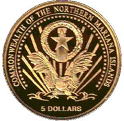 5 Dollars (France) – obverse