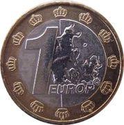 1 Europ (Denmark Euro Fantasy Token) – reverse