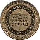 Monnaie de Paris Tourist Token - Musée de l'armée (Tombeau de Napoléon) – reverse