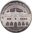 National Tokens Portuguese Heritage - Guimarães (Paço dos Duques de Bragança) – obverse