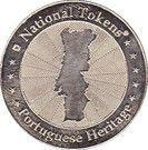 National Tokens Portuguese Heritage - Guimarães (Castelo de Guimarães) – reverse
