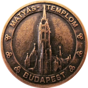 Token - Budapest (Matthias Church) – obverse