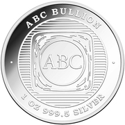 1 oz Silver (ABC Bullion - Year of the Pig) – reverse