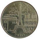 Monnaie de Paris Tourist Token - Paris (Les 5 Monuments) – obverse