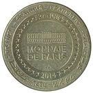 Monnaie de Paris Tourist Token - Paris (Les 5 Monuments) – reverse