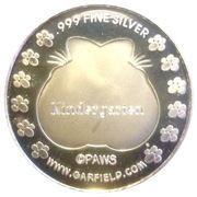 1 oz silver (Garfield Graduation Day) – reverse