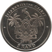 5 Rand (Parrot) – obverse