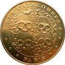 Monnaie de Paris Tourist Token - Paris (Les Catacombes) – obverse