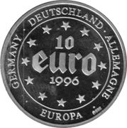10 Euro (Carolus Magnus) – obverse