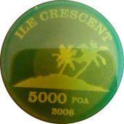 5000 Poa – obverse