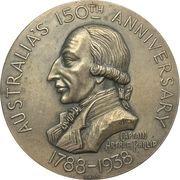 Medal -  Australia's 150th Anniversary – obverse