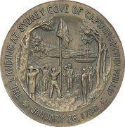 Medal -  Australia's 150th Anniversary – reverse