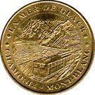Monnaie de Paris Tourist Token - Chamonix-Mont-Blanc (La Mer de Glace) – obverse