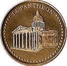 Monnaie de Paris Tourist Token - Le Panthéon – obverse
