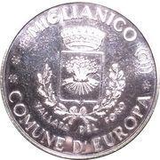 1 Euro (Miglianico - Chieti - Abruzzo) – reverse