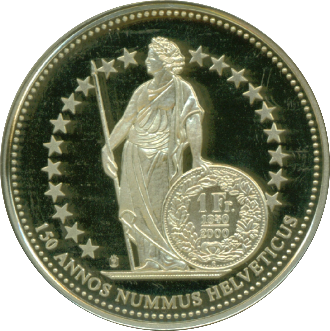 Medal 150 Years Of Swiss Franc