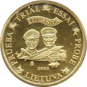 10 Cent (Lithuania Euro Fantasy Token) – obverse