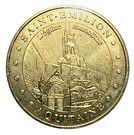 Monnaie de Paris Tourist Token - Aquitaine (Saint-Emilion Monolithic Church) – obverse