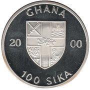 100 Sika (The Santa Maria) – obverse