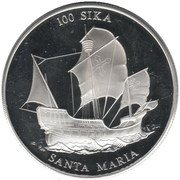 100 Sika (The Santa Maria) – reverse