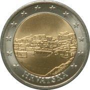 2 Euro (Croatia Euro Fantasy Token) – obverse