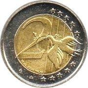 2 (Slovakia Euro Fantasy Token) – reverse