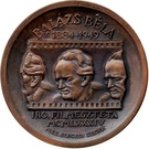 Medal - Bela Balazs – obverse