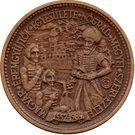Medal - Gyorgy Szondi – reverse