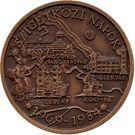 Medal - Szigetkoz days – obverse