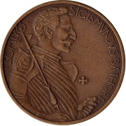 Zsigmond Bathori of Somlyo – obverse