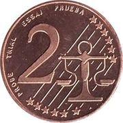 2 Cent (Poland Euro Fantasy Token) – reverse