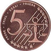 5 Cent (Poland Euro Fantasy Token) – reverse